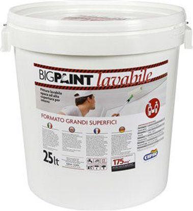 Immagine di Am grandi lavori-pittura acrilica lavabile bianco lt.25 per interno ed esterno