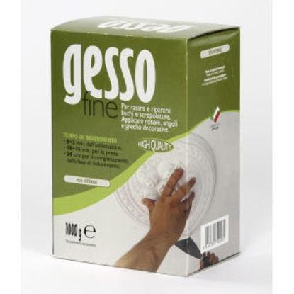 Immagine di Gesso fine - prodotto in polvere a base gesso con aggiunta di regolatori di tempo di presa. 1000 g
