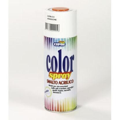 Immagine di Color spray - smalto acrilico spray, brillante per esterni e interni. arancione - 400 ml
