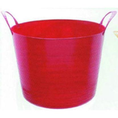 Immagine di Mastella color da giard.lt.40 d.42 h.41 - mastella color casa-giardino lt.40, diam.cm.42, h.cm.41