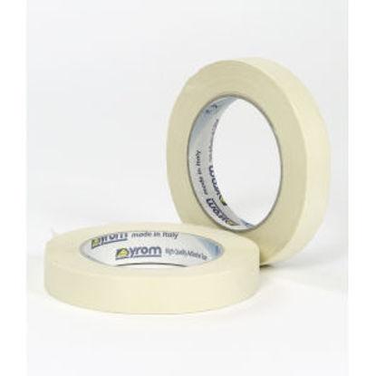 Immagine di Nastro carta - nastro adesivo per mascherature. 19 mm