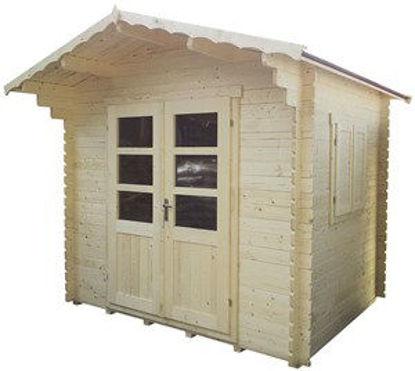Immagine di S.c.salama - blockhaus ab.mm28 cm.194x244in.c/pavi sc