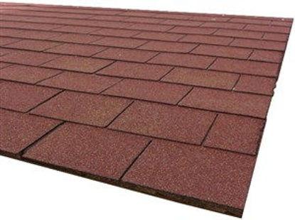 Immagine di Tegola canad.eco roof mixed red al mq