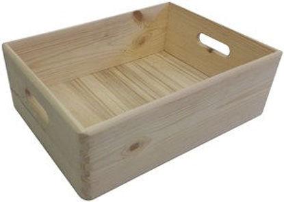 Immagine di Contenit.legno essiccato cm.40x30xh.14