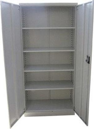 Immagine di armadio in ferro tuttopiani 2 ante, dimensioni cm.90x45x180h.. il prodotto viene fornito smontato