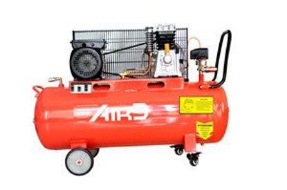 Immagine di Compressore 100lt  a cinghia 3hp 2200w rosso
