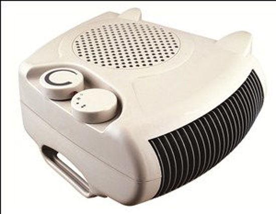 Immagine di Termoventilatore sagomato con termostato regolabile 2 selezioni riscaldanti 1000-2000w