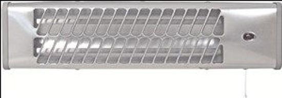 Immagine di Stufa al quarzo da parete 2 selezioni riscaldanti  600-1200 watt