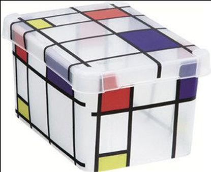 Immagine di Box milano s6 mondrian/trasparente