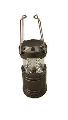 Immagine di Lanterna da campeggio 30led 87x87x195mm