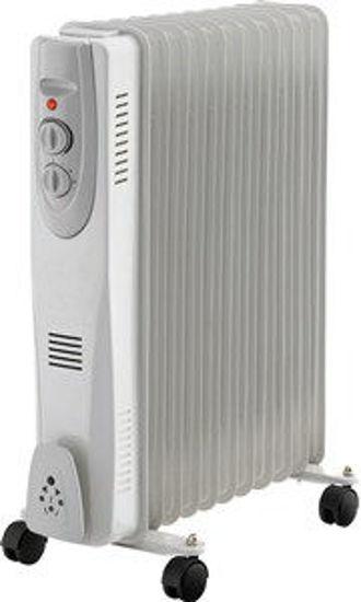 Immagine di radiatore elettrico ad olio a 9 elementi,  potenza nominale 2000 watt