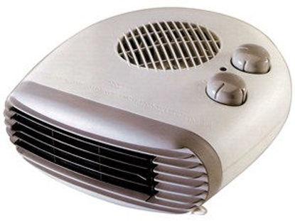 Immagine di Termoventilatore flat con termostato 2 livelli di potenza 1000/2000w