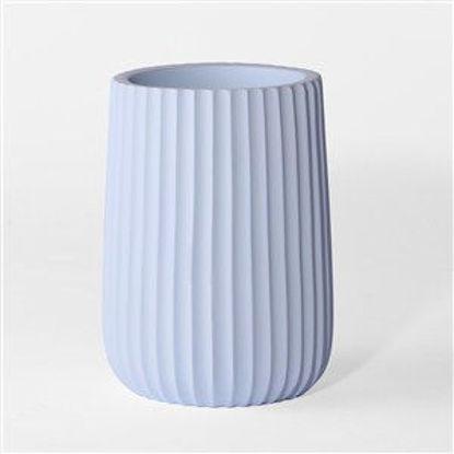 Immagine di Bicchiere azzurro poly
