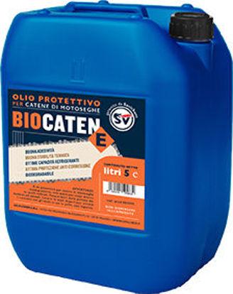 Immagine di Biocatene olio lubrificante per catene motosega biodegradabile, professionale lt.5