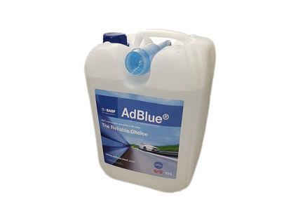 Immagine di Adblue lt.10 basf,  additivo x gasolio per auto euro 6.
