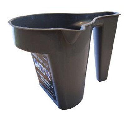 Immagine di Minivaschetta per pittura in plastica grigia