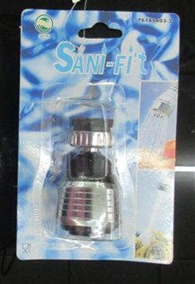 Immagine di Soffione per doccia alluminio e plastica