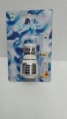 Immagine di Soffione per doccia in alluminio e plastica