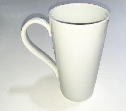 Immagine di Mug in ceramica bianca stretta