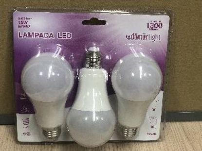 Immagine di Blister 3 lampadine led a goccia, potenza 15watt, attacco e27, intensità colore 4000k