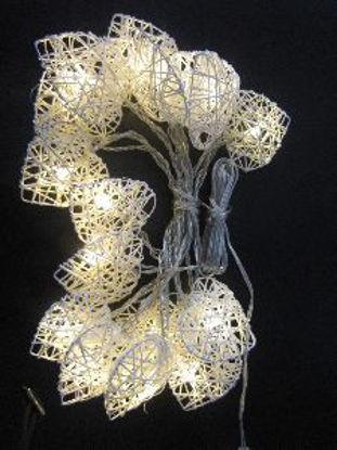 Immagine di 10 LED HANDYCRAFT CUORE - BIANCO CA