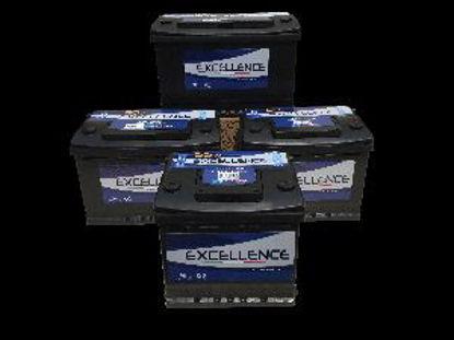 Immagine di batteria auto excellence tensione 12 volt capacità 105 ah spunto 750a(en) dimensioni mm 313x175x190 l5 polarità dx