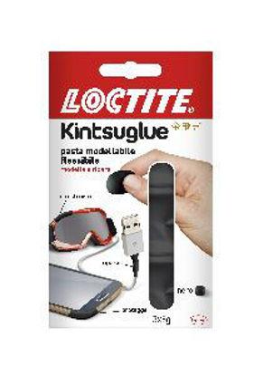 Immagine di Loctite kintsuglue pasta modellabile per riparare qualsiasi oggetto confezione 3 x 5gr. nero