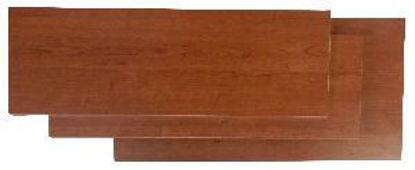 Immagine di Piano pratico finitura in melaminico colore ciliegio mm.400x18x800