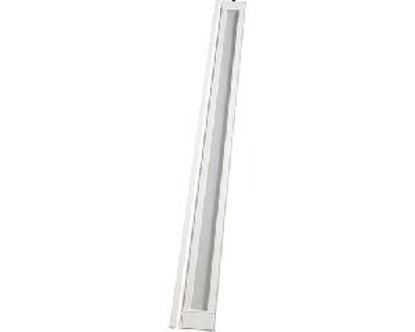 Immagine di pannello aggiuntivo 'larya' vetrato bianco misure mt. h.2,15x0,145