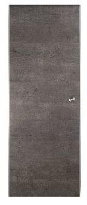 Immagine di door in box, kit porta scorrevole con guida da interno, in pvc ideale per tutti gli ambienti di casa, misure cm. l.87,4 h.211,6 spessore cm.3,5, colore legno grigio scuro