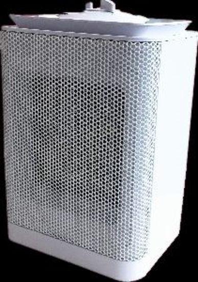 Immagine di termoventilatore ptc ceramico, 2 selezioni riscaldanti potenza 750/1500 watt