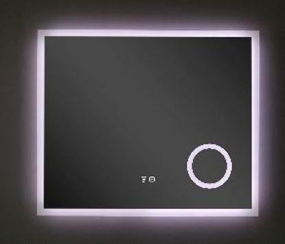 Immagine di SPECCHIO C/LED CM.90X75 C/SP.INGRANDIT.